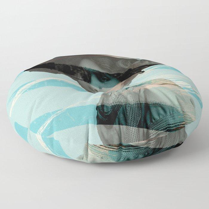 Abstract 1 Floor Pillow