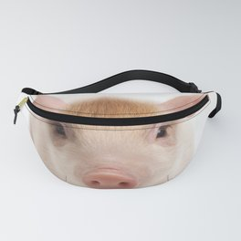 Baby Pig Print by Zouzounio Art Fanny Pack