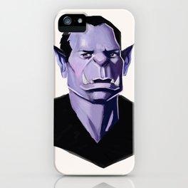 Vampire Portrait iPhone Case