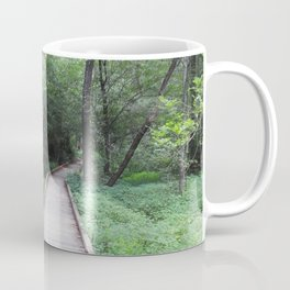 Wooden Pathway Coffee Mug