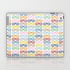 Rainbow Shutter Shades Laptop & iPad Skin