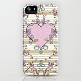 Vintage Summer Love iPhone Case