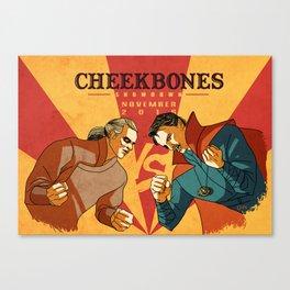 Doctor Strange- Cheekbone War Canvas Print