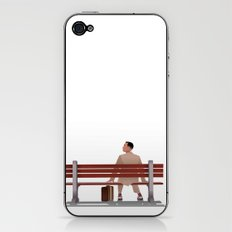 Forest Gump iPhone & iPod Skin