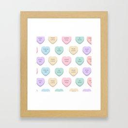 Valentine's Day Framed Art Print