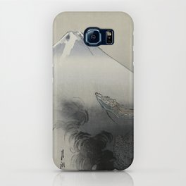Dragon Rising to the Heavens at Mount Fuji by Ogata Gekko iPhone Case