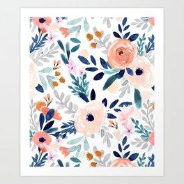 Jolene Floral Art Print