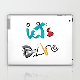 Type Let's Dance Laptop & iPad Skin