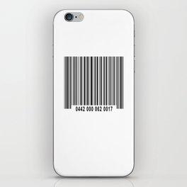 Barcode #1 iPhone Skin