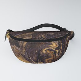 Chocolate and Gold Fanny Pack