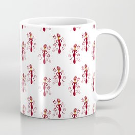 Flower Girl Pattern Coffee Mug