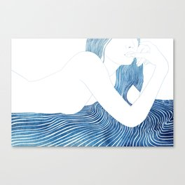 Nereid XLV Canvas Print
