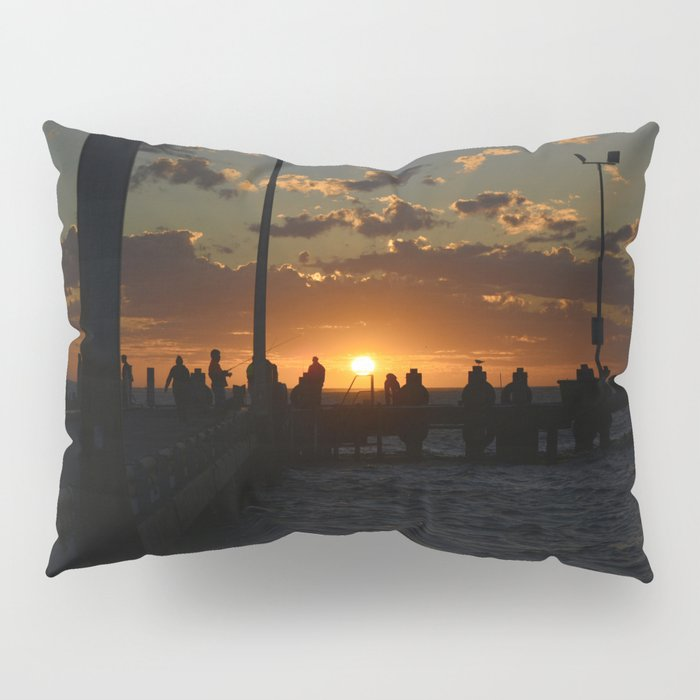 Time to fish Pillow Sham