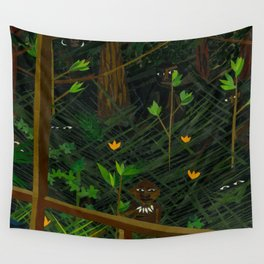 Hidden in the jungle Wall Tapestry