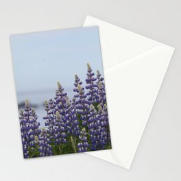 Lupine Flowers Photography Print Stationery Cards