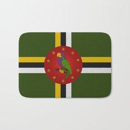 Dominica Flag Bath Mat