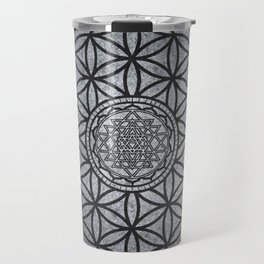 Sacred Unity - Sacred Geometry Travel Mug