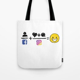 Color equation Tote Bag