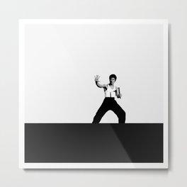 Bruce L. / Martial artist. Metal Print
