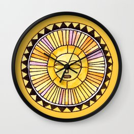 The Sun was incapable of making plans Wall Clock
