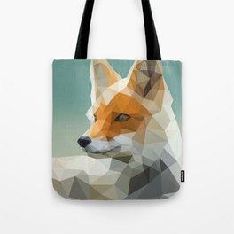 Polygon Fox Tote Bag