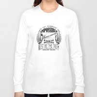 sherlock holmes Long Sleeve T-shirts featuring Sherlock Holmes by Leti Mela