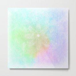 A Splash of Pastel Metal Print