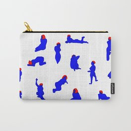 HanGyeol Drawing_Blue Woman Carry-All Pouch