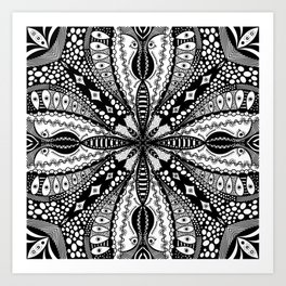 Chaotic Daydream Art Print