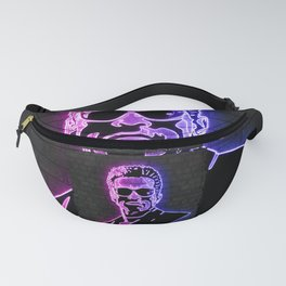 Terminator neon art Fanny Pack