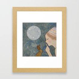 Secret of The March Moon Framed Art Print