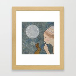 Secret of The March Moon Framed Art Print