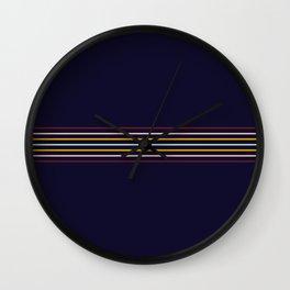 Thin Classic Retro Lines Wall Clock