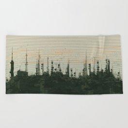 Mountain Top Beach Towel