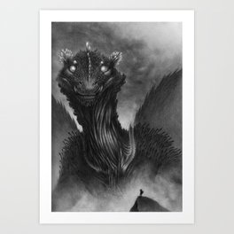 The Dragon of the Valley Art Print