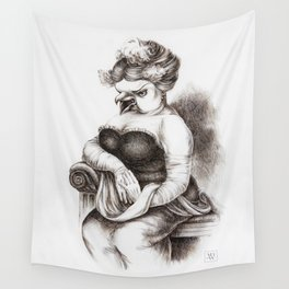 The Opera Singer Wall Tapestry