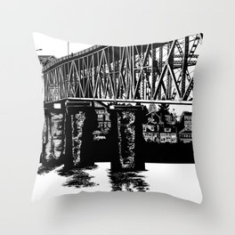 Manette Bridge Throw Pillow