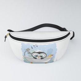 Penguin Bathtime Fanny Pack