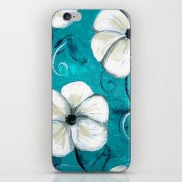 Flowers in Oil iPhone Skin