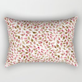 House Finch Pattern Rectangular Pillow