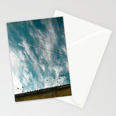 Doves and Wire#2 Stationery Cards