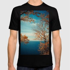 The View From the Top Mens Fitted Tee Black MEDIUM