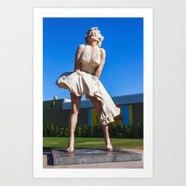 Forever Marilyn Art Print