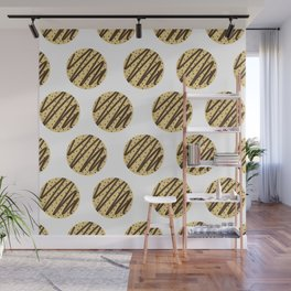 Chocolate Chip Cookies Wall Mural