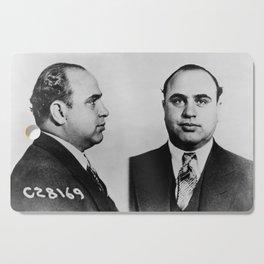 Al Capone Mugshot Cutting Board
