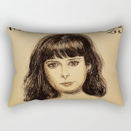 (Krysten Ritter - Don't trust the bitch in apartment 23) - yks by ofs珊 Rectangular Pillow