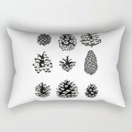 Pinecone study Rectangular Pillow