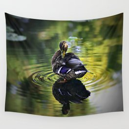 Reflective Duck Wall Tapestry
