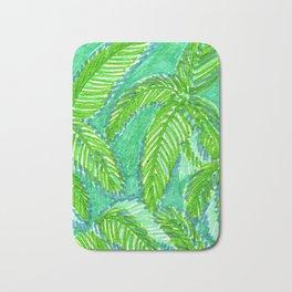 Palm Canopy 2 Bath Mat