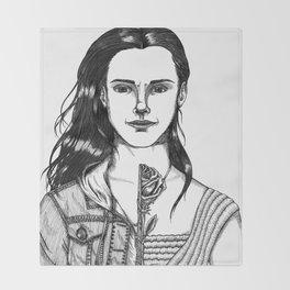 Emma Watson Throw Blanket